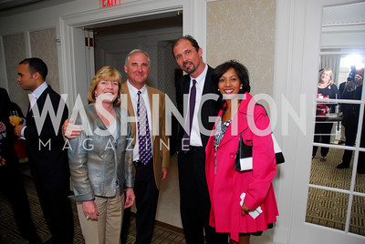 Michelle Boggs, Ron Roys, John Schmiedigen, Nadia Subaron, McLaughlin/Reuters Brunch at the Hay-Adams, May 1, 2011, Kyle Samperton