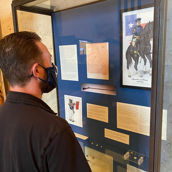 Lobby Exhibit, Uncovering the Past