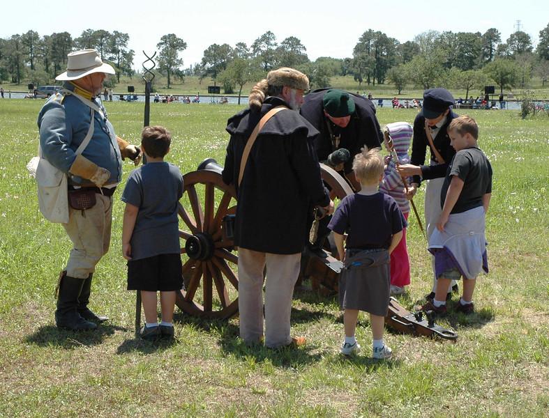 Texian artillery