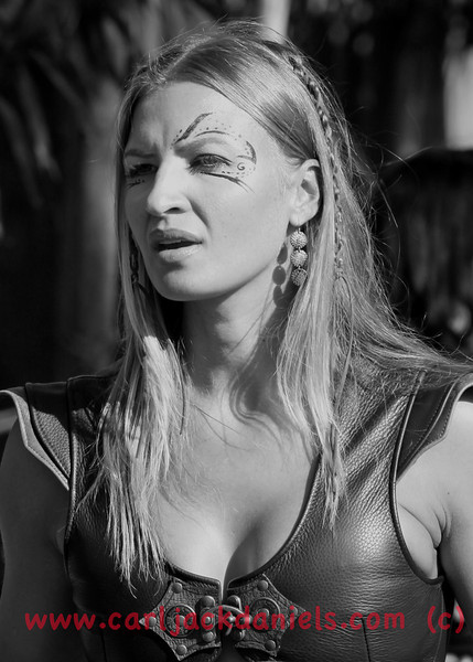 Warrior Princess [1] B&W