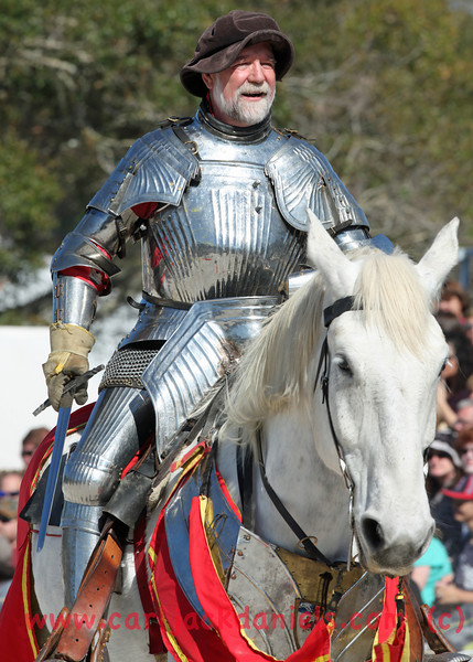 The pre-joust challenge