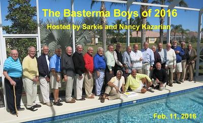 Men's Basterma Breakfast, Naples, FL, February 11, 2016