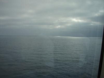 Day 2, At Sea 10-25-2009