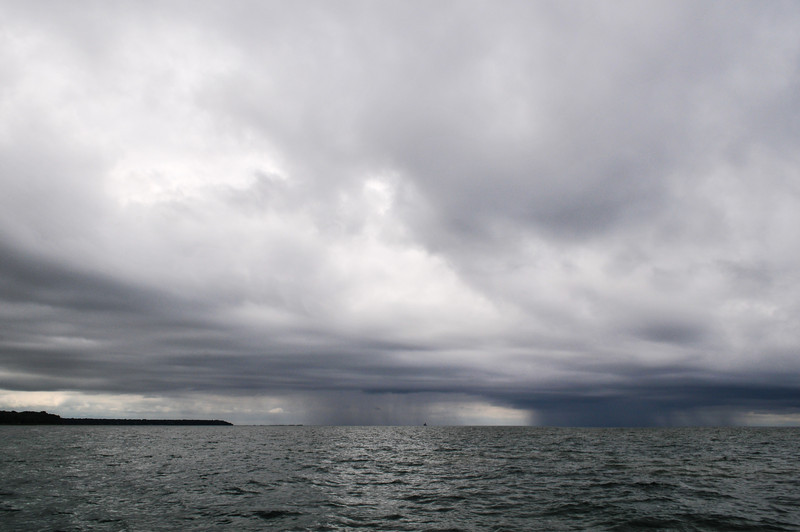 Storm approaching from the Northwest - June 2009