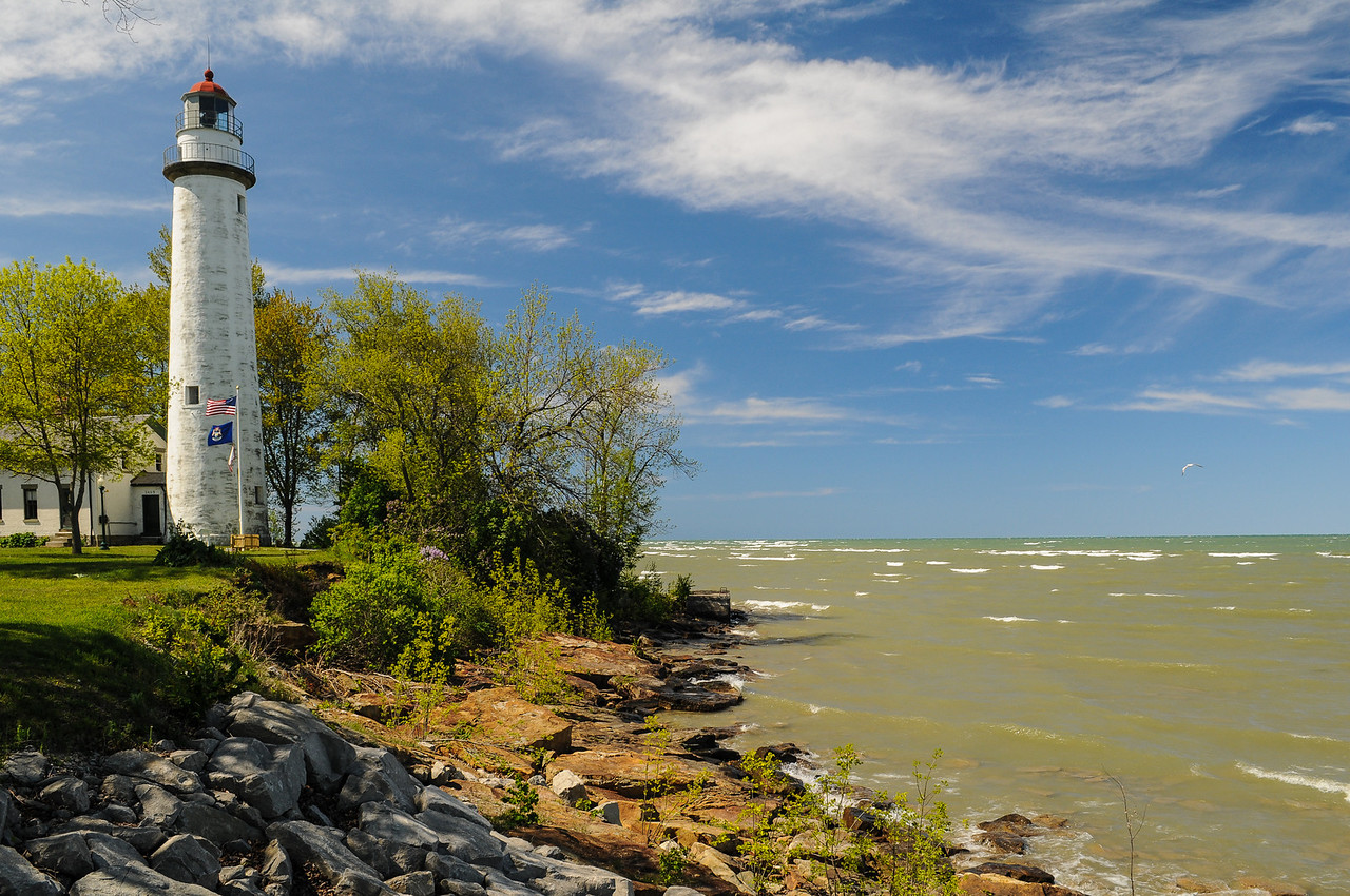 Pointe Aux Barques Lighthouse - May 2008