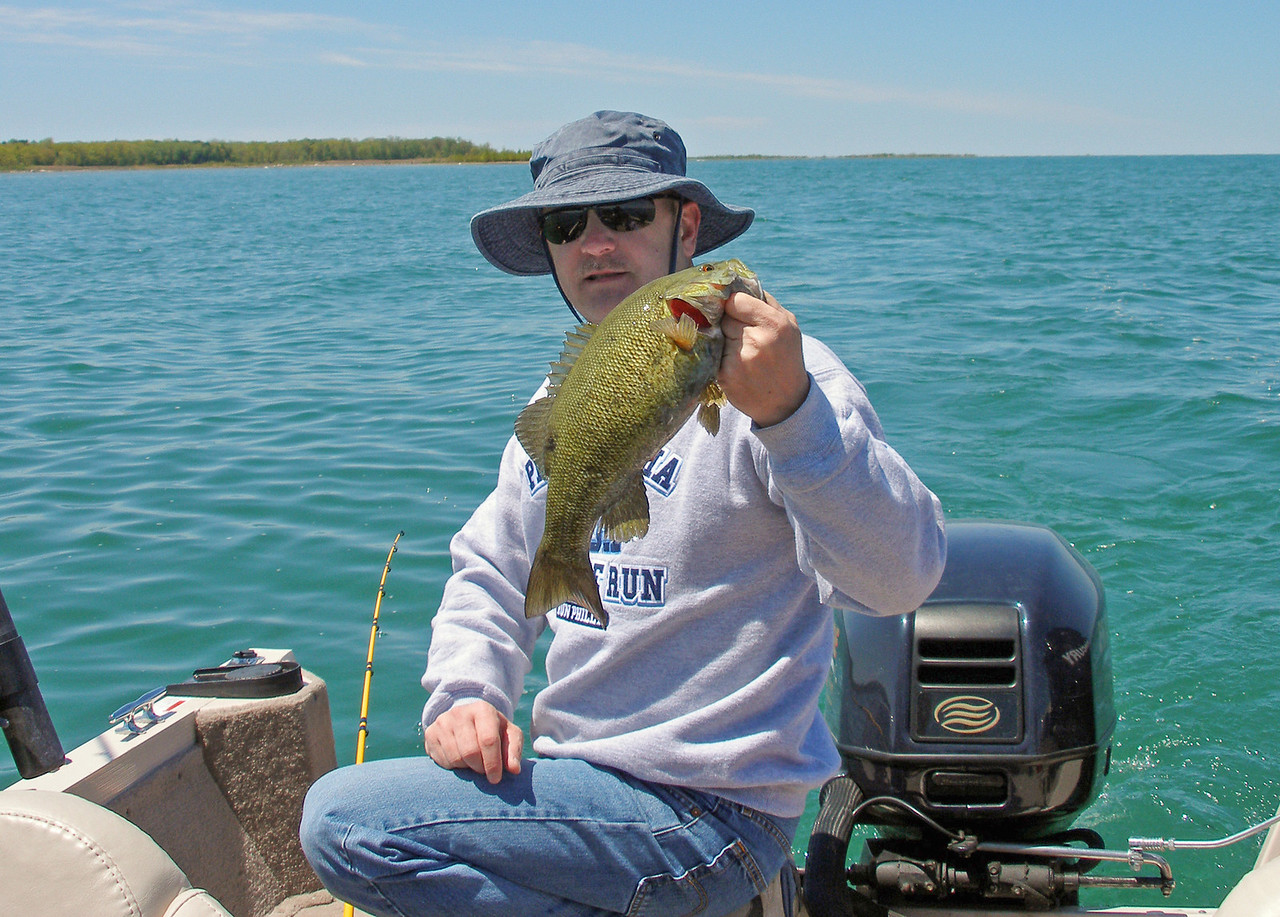 Smallmouth Bass caught near the Points - May 2008