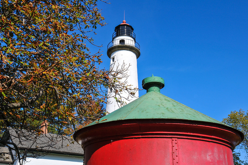 Pointe Aux Barques Lighthouse - October 2010
