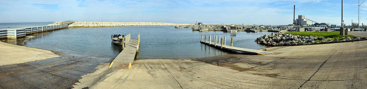 Harbor Beach panoramic  - October 2011