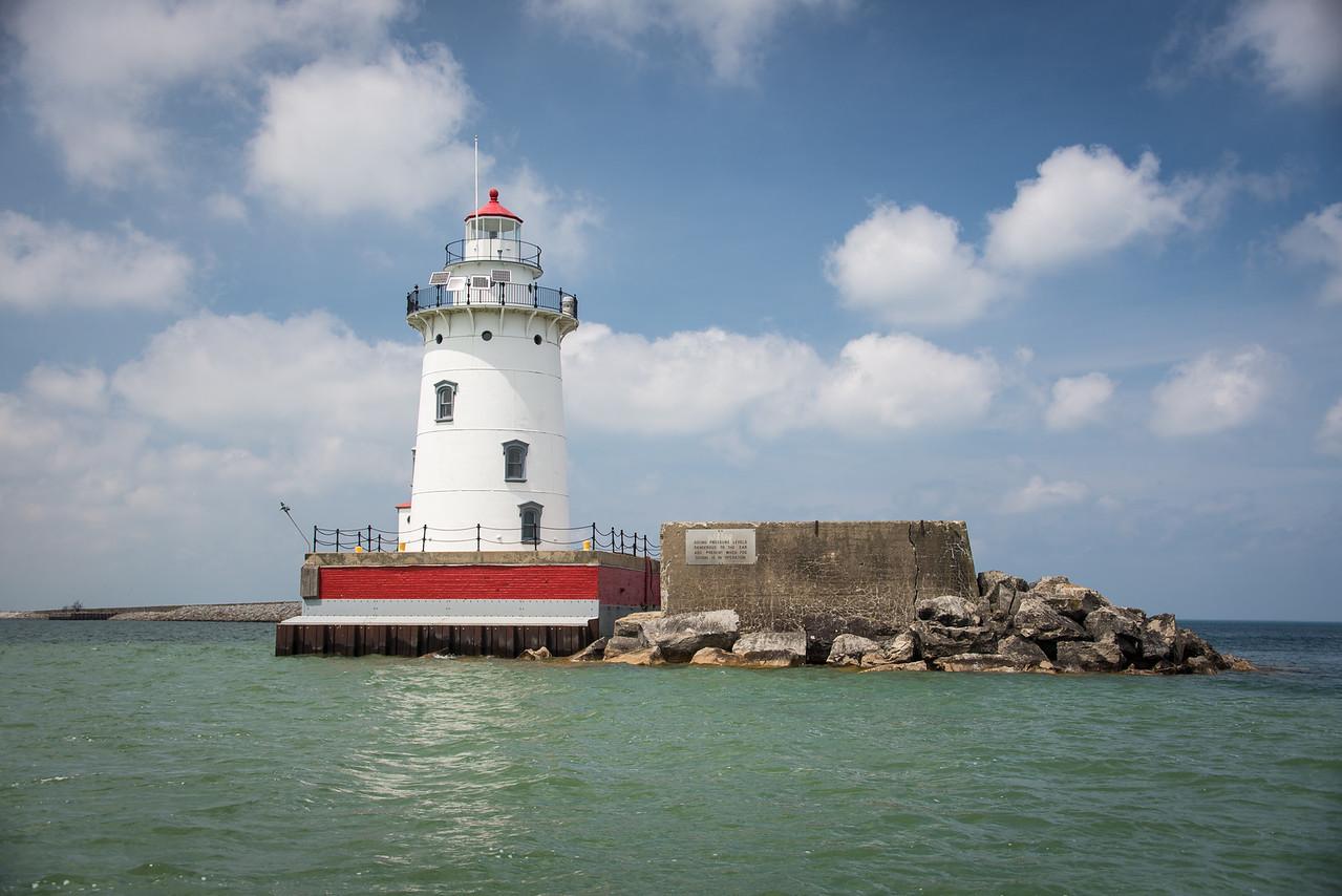 Harbor Beach Lighthouse - May 2013