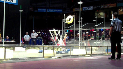 A match during the Logomotion challenge.