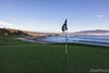 Looking Back at Fairway from Pebble Beach 18th Green
