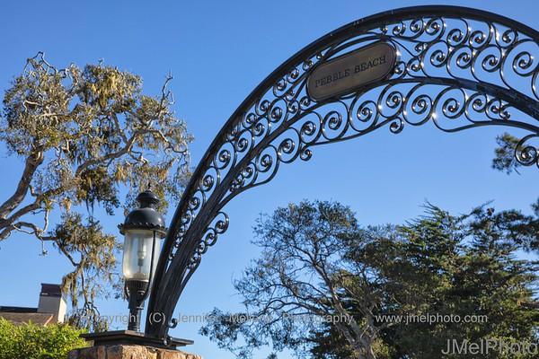Gate of Golf Heaven - Pebble Beach Golf Links