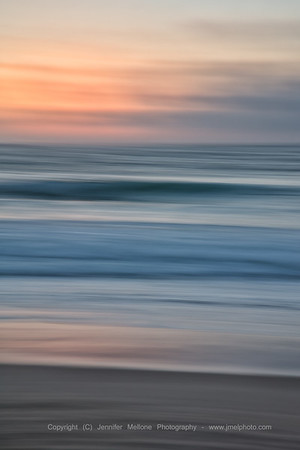 Impressions of Seaside Sunset - Vertical