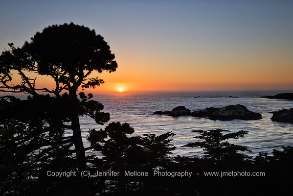 Sunset from Carmel Highlands