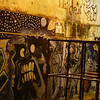 "A night-time shot of wall graffiti at a local playground - Montevideo, Uruguay.  This is a travel photo from Montevideo, Uruguay. <a href=""http://nomadicsamuel.com"">http://nomadicsamuel.com</a>"