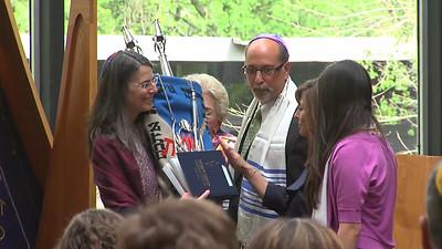 Morgan Levy Bat Mitzvah