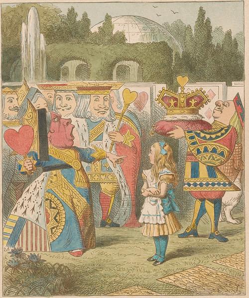 Tenniel, John, 1820-1914, The Queen Has Come [print].19th century, 1 print, 2005.200