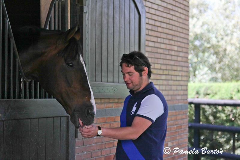 Sharif loves the stallions
