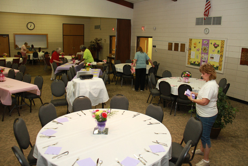 St Luke's UMW Mother/Daughter Luncheon May 12. 2012