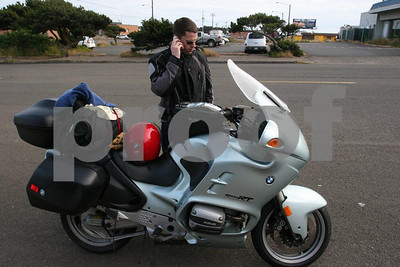 This is how a biker finds a campground....dial up a search on the cell phone.