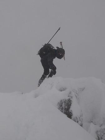 Mount Ellinor - December 2012