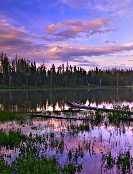 Dawn Sky on the Lake
