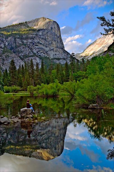 Reflecting at Mirror Lake