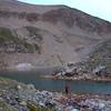 Cam at Lake Emma.