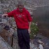 Pre-fourteener evening hike to Lake Emma above the parking lot.