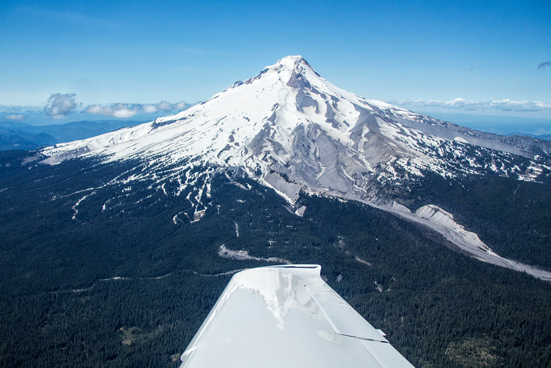 Mt Hood as seen from Northeast direction.