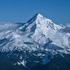 Aerial view of Mt Hood