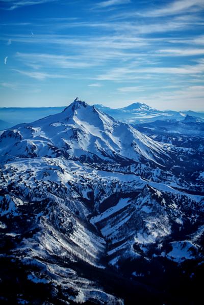 Portrait shot of Mt. Jefferson