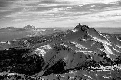 View of Mt Jefferson and surrounding area