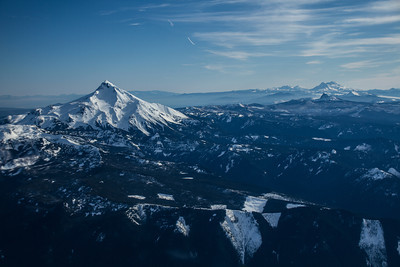 Mt Jefferson and surrounding area
