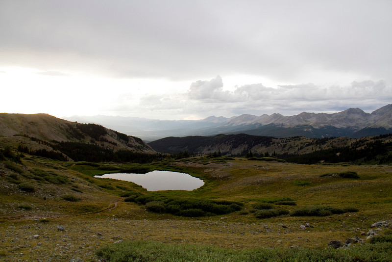 The top of cottonwood pass.