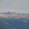 The Elk Range fourteeners from Mt Yale.