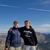 Cam and I on the summit of Mt Yale.Our seventh fourteener together and our second of the 2012.