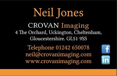 Crovan Business Card back