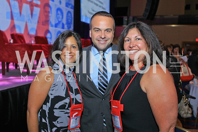 Catherine Pino, Jorge Plassencia, Ingrid Duran. 2011 NCLR Annual Conference Latinas Brunch Focuses on Women. Washington Marriott Wardman Park. Photo by Alfredo Flores. July 24, 2011