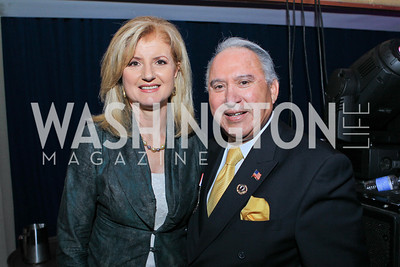 Arianna Huffington, Rick Leal. 2011 NCLR Annual Conference Latinas Brunch Focuses on Women. Washington Marriott Wardman Park. Photo by Alfredo Flores. July 24, 2011