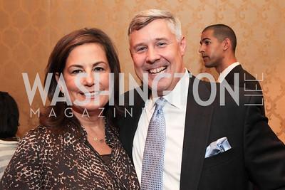 Amy Rosen, Herb Engert. NFTE Dare to Dream Gala 2011. Photo by Alfredo Flores. Ritz-Carlton, Washington D.C.. April 27, 2011
