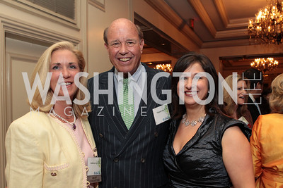 Christina Carter, Pierson Mapes, Julia Silard Kantor. NFTE Dare to Dream Gala 2011. Photo by Alfredo Flores. Ritz-Carlton, Washington D.C.. April 27, 2011