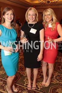 Ada Polla, Heidi Creel Rogers, Kate Hughes. NFTE Dare to Dream Gala 2011. Photo by Alfredo Flores. Ritz-Carlton, Washington D.C.. April 27, 2011