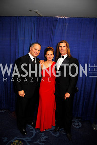 Michael DelGrosso,Sherry Del Grosso,Fabio Lanzoni,October 29,2011,NIAF Gala VIP Reception,Kyle Samperton