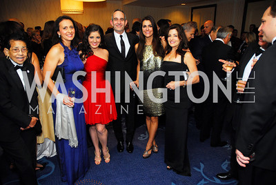 Estella Zampadi,Christina Carlucci,Gary Gersh,Marie Mancuso,Aileen Carlucci,October 29,2011,NIAF Gala VIP Reception,Kyle Samperton