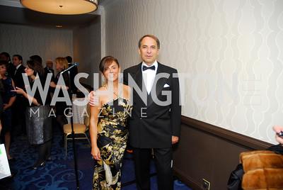 Enza Mancusa,Bruno Mancusa,October 29,2011,NIAF Gala VIP Reception,Kyle Samperton