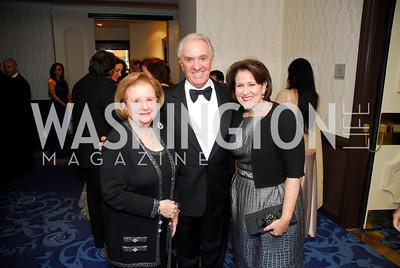 Delores Del Rosa,John Scarpa,Anita McBride,October 29,2011,NIAF Gala VIP Reception,Kyle Samperton