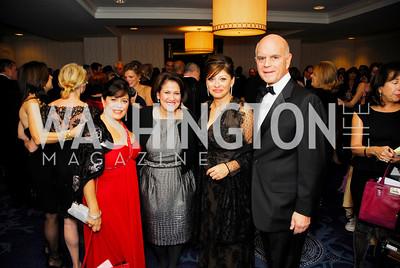 Theresa Santora,Anita McBride,Maria Bartiromo,Sal Salibello,October 29,2011,NIAF Gala VIP Reception,Kyle Samperton