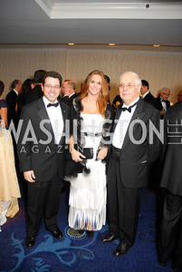 Claudio Bozzco,Camille Bozzco,Francesco Nicortra,October 29,2011,NIAF Gala VIP Reception,Kyle Samperton