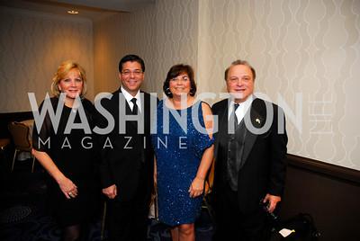 Karen Caiazzo,Nick Caiazzo,Susana Paolercio,Ted Granata,October 29,2011,NIAF Gala VIP Reception,Kyle Samperton